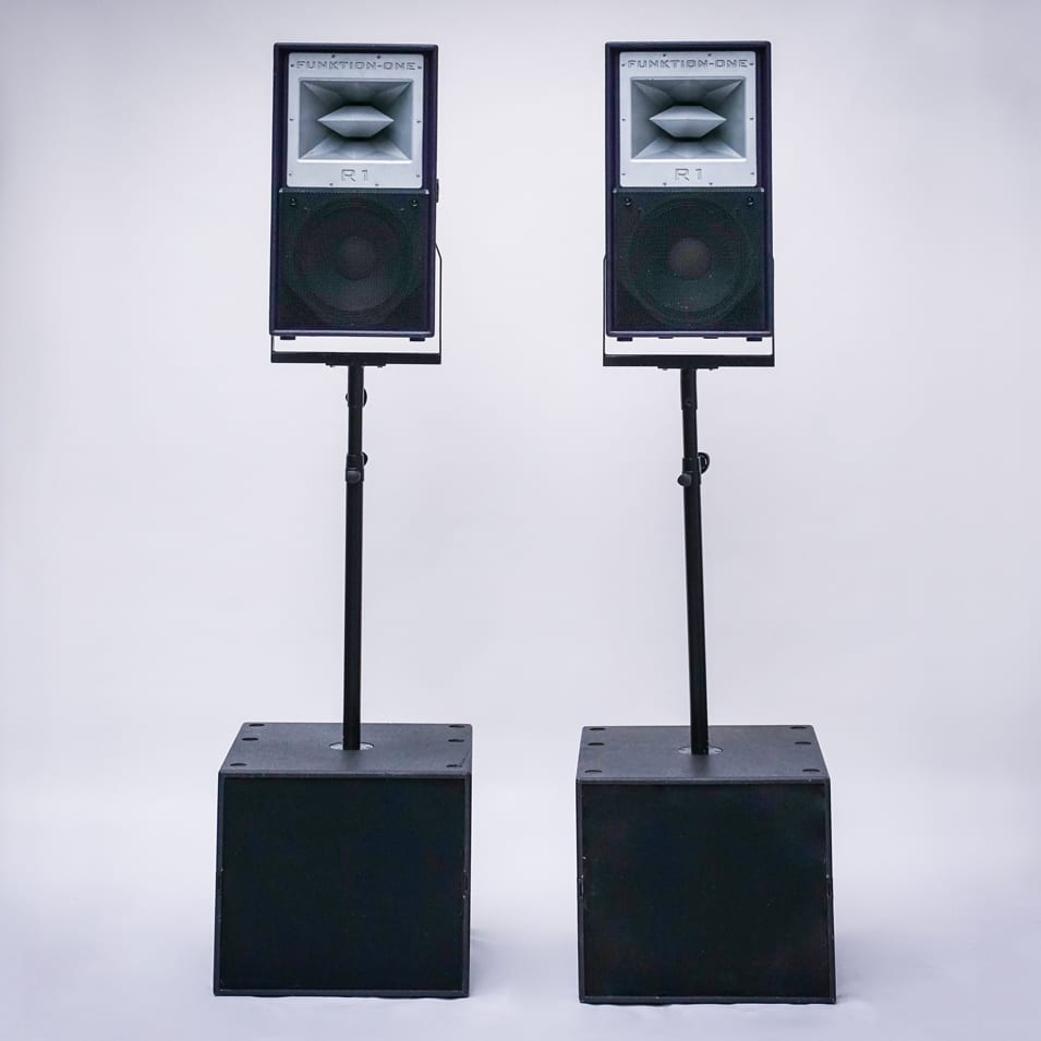 Funktion One Lautsprecher mieten in Berlin